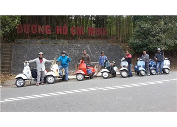 vespa tour hanoi - Vespa Tour Hoi An to Hue 1 day