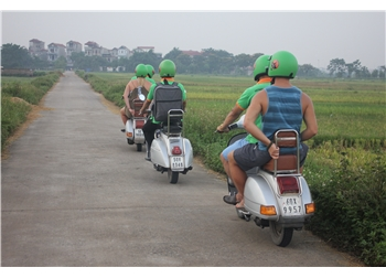 vespa tour hanoi - Hue vespa afternoon  countryside tour