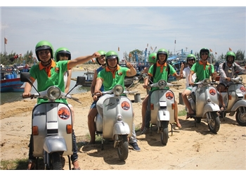 vespa tour hanoi - Hoi An vespa afternoon tour and  explore countryside 4 hours